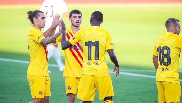 Barcelona vs. Girona se medirán en un partido amistoso de pretemporada. (Foto: @FCBarcelona_es)