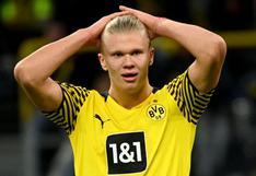 Nuevamente sin Haaland: Borussia Dortmund reveló nueva lesión del goleador