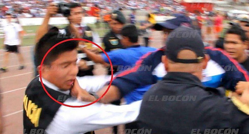 José Soto es denunciado por agredir a policía en Segunda División