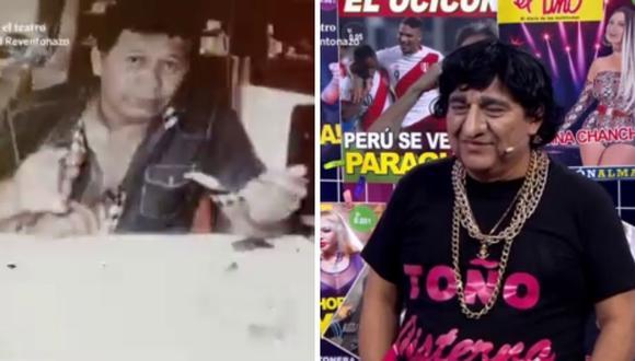 Manolo Rojas no pudo evitar quebrarse al recordar la muerte de su hermano Carlos a causa del COVID-19. (Fotos: Capturas de América TV).