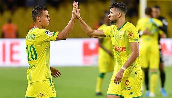 Selección peruana | Cristian Benavente presente en triunfo de Nantes ante Rennes por la Ligue 1 | VIDEO