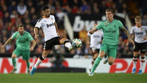 Real Madrid vs. Valencia EN VIVO por la semifinal de la Supercopa de España 2020