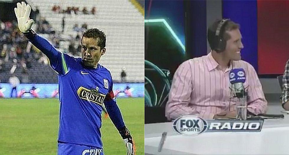 Alianza Lima: Leao Butrón dejó los guantes para ser comentarista deportivo