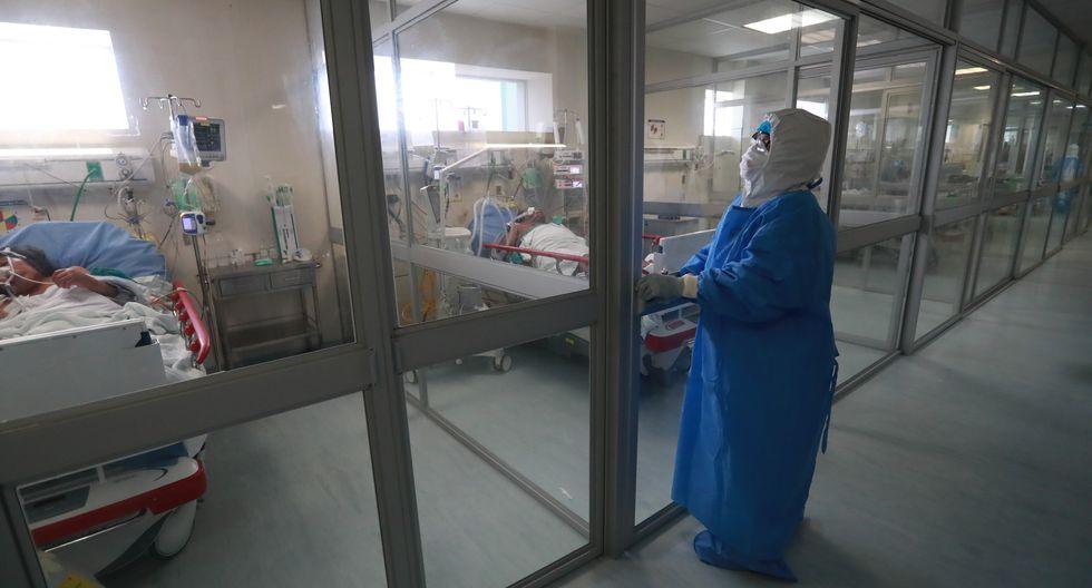 El número de pacientes hospitalizados es de 7408 a nivel nacional.