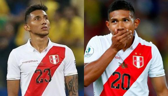 Ambos jugadores no estarán presentes con la selección peruana para los partidos de Eliminatorias ante Colombia y Ecuador en Lima y Quito respectivamente