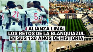 Alianza Lima cumple 120 años: Repasa los retos que afrontará el club blanquiazul en la temporada 2021