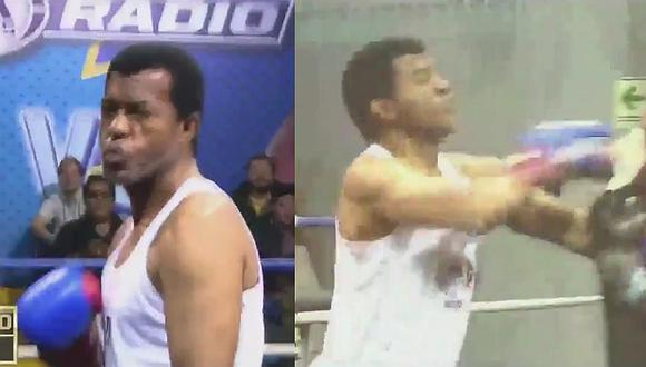 Julio César Uribe venció a periodista de Fox Sports en pelea de box [VIDEO]