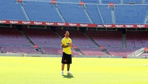Lionel Messi sigue preparándose, pensando en llegar en óptimas condiciones para el choque ante Mallorca. (Foto: Instagram)