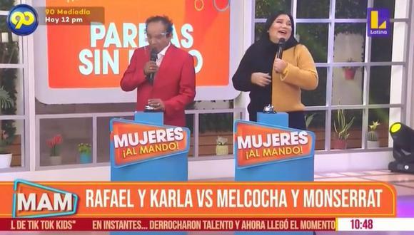 """Monserrat Seminario reveló detalles de su vida en pareja con 'Melcochita' en """"Mujeres Al Mando"""". (Foto: Captura)"""