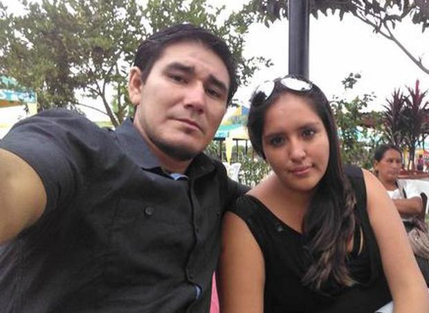 La empresaria Fiorela Díaz junto a Elmer Lucano cuando todo era felicidad. (Foto Facebook)