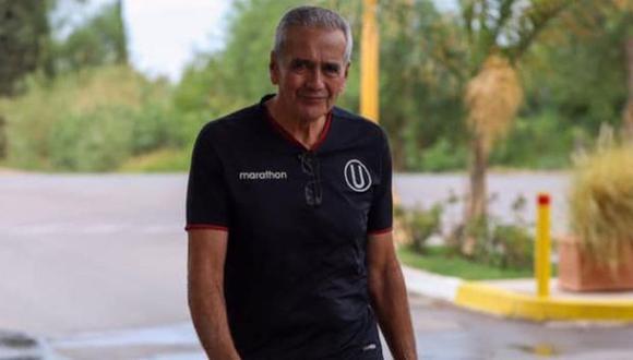 Gregorio Pérez fue anunciado como entrenador de Universitario de Deportes en diciembre del 2019. (Foto: Universitario de Deportes)