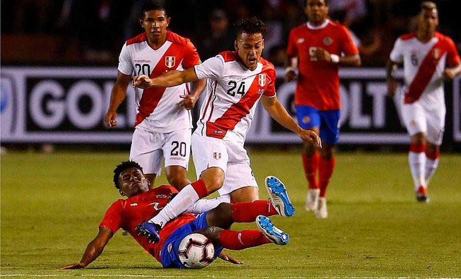 Benavente recibe elogios de Gareca tras duelo ante Costa Rica [VIDEO]