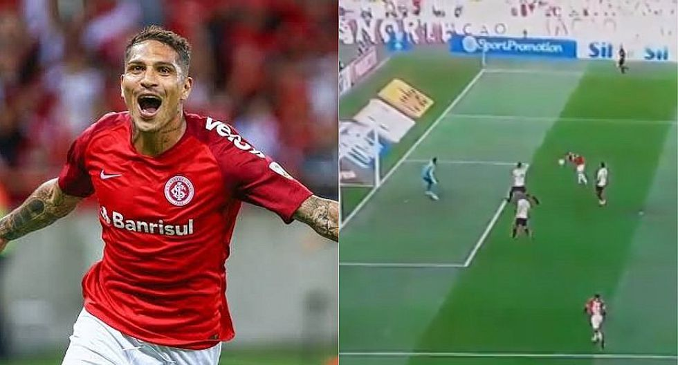 Internacional vs. Flamengo: Paolo Guerrero y el golazo que marcó en su estreno en el Brasileirao   VIDEO