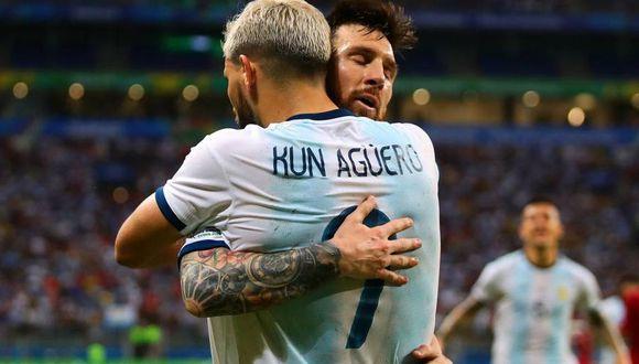 Sergio Agüero y Messi son compañeros en la selección argentina desde hace más de 10 años. (Foto: Difusión)