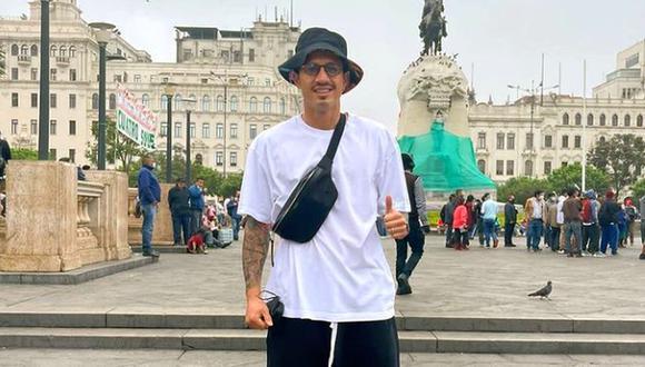 Lapadula visitó las calles del Centro de Lima en su descanso con la Selección Peruana. (Foto: Instagram)