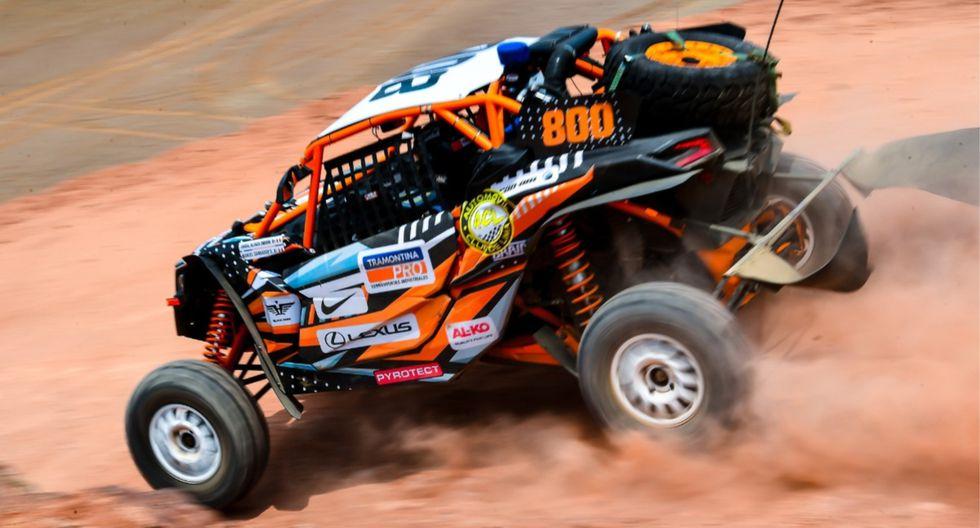 Falla mecánica le juega mala pasada a Nicolás Fuchs en el Rally Playas 2020   Foto: Itea
