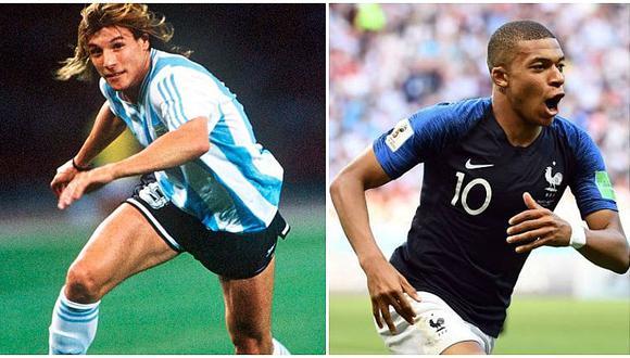 Claudio Cannigia y su parecido con un campeón mundial