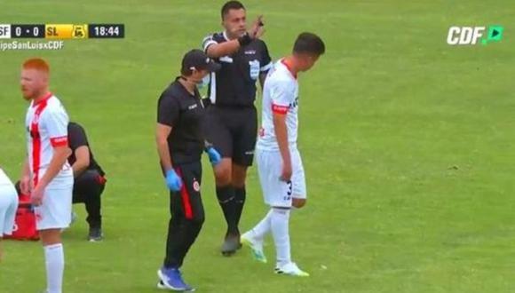 Julio Bascuñán fue enviado a Segunda División tras polémico arbitraje ante Perú