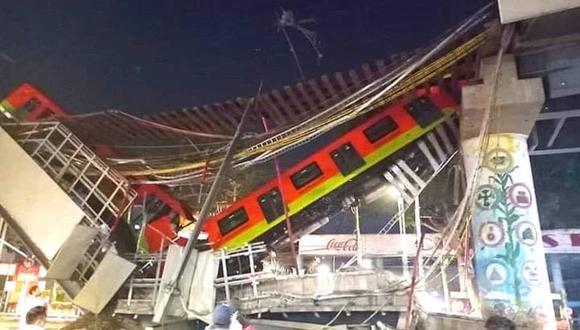 La Línea 12 del Metro de México colapsó y se desplomó con toda la estructura del puente, hasta el momento ha dejado más de 10 muertos y decenas de heridos