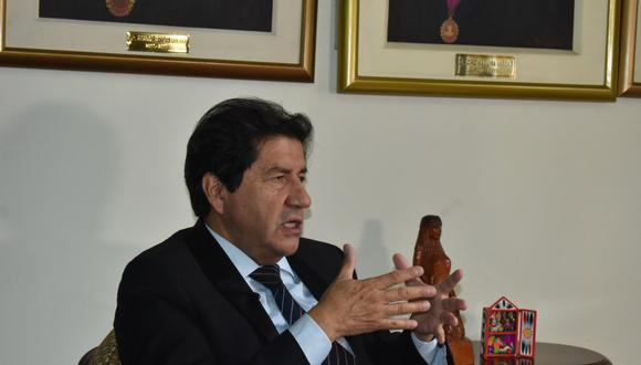 Palacios enfatizó que casos por contagios de COVID-19 siguen incrementándose. Por ello, pidió a la ciudadanía cumplir los protocolos de bioseguridad. (Foto: CMP)