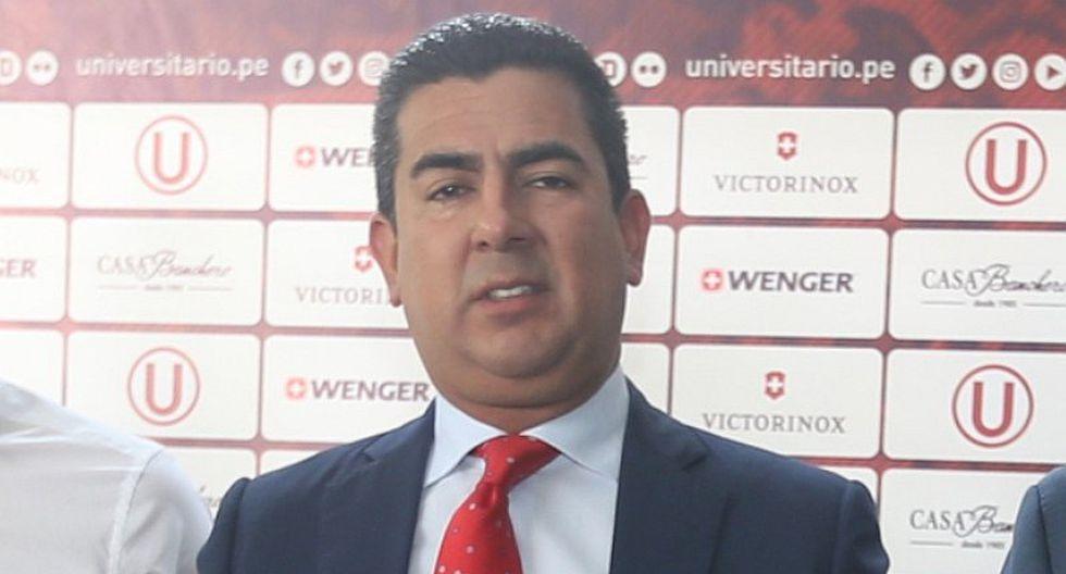 """Universitario   Carlos Moreno: """"Algún acreedor podría solicitar la liquidación de la U"""""""