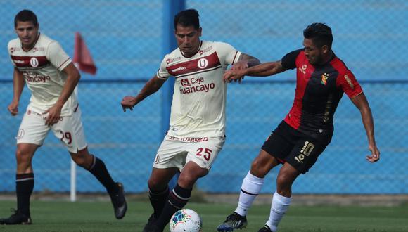 Enzo Gutiérrez recibió duras críticas de los hinchas cremas. (Foto: Daniel Apuy / Liga 1 Betsson)