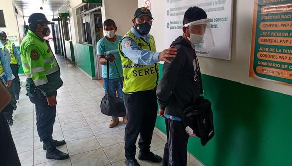 Milton Chávez Cachay fue llevado a la comisaría de Chacarilla del Estanque. (Foto: Municipalidad de Surco)