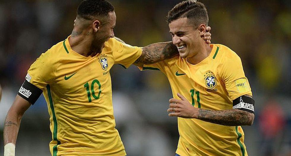 Neymar: Philippe Coutinho se rinde en elogios al crack brasileño
