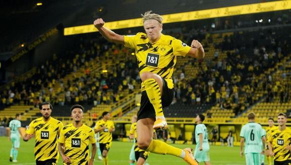 Borussia espera que Haaland no pida su carta de libertad (Foto: Reuters)