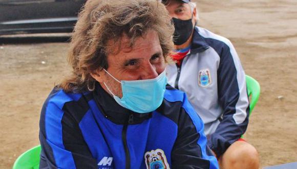 Rubén Darío Insúa solo dirigió tres partidos a Binacional. (Foto: Binacional)