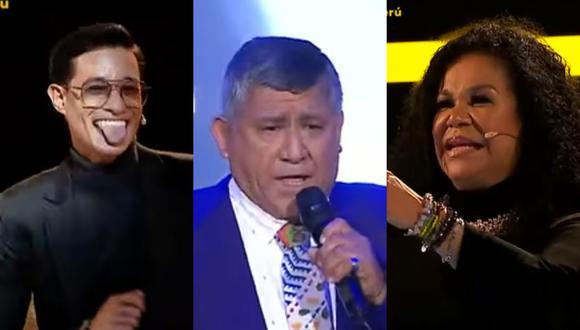 """Mito Plaza sorprende al jurado de """"La Voz Senior"""" al interpretar """"Detalles"""", canción de Óscar de León. (Foto: Captura Latina)."""
