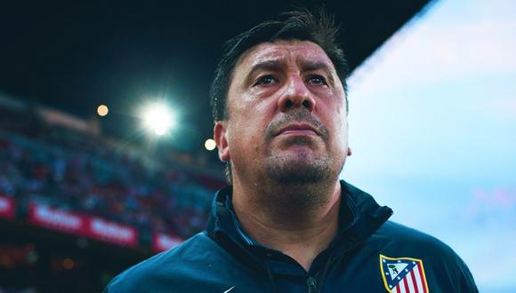 Germán Burgos confirmó que la próxima temporada no seguirá en el Atletico de Madrid