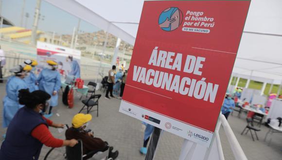 Hoy martes 11 de mayo se inicia la vacunación a personas con síndrome de Down a nivel nacional. (Foto: Jorge Cerdán/ @photo.gec)