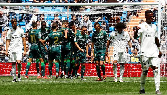 Real Madrid perdió 0-2 ante Betis en el Bernabéu y cerró temporada para el olvido   VIDEO