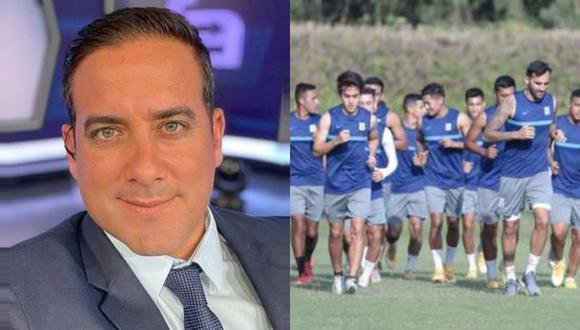 El periodista deportivo de América Televisión, Óscar del Portal explotó contra Agustín Lozano tras el fallo del TAS que devuelve a Alianza Lima a la primera división