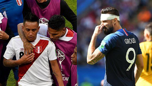 Olivier Giroud analizó a la selección peruana y la comparó con Colombia