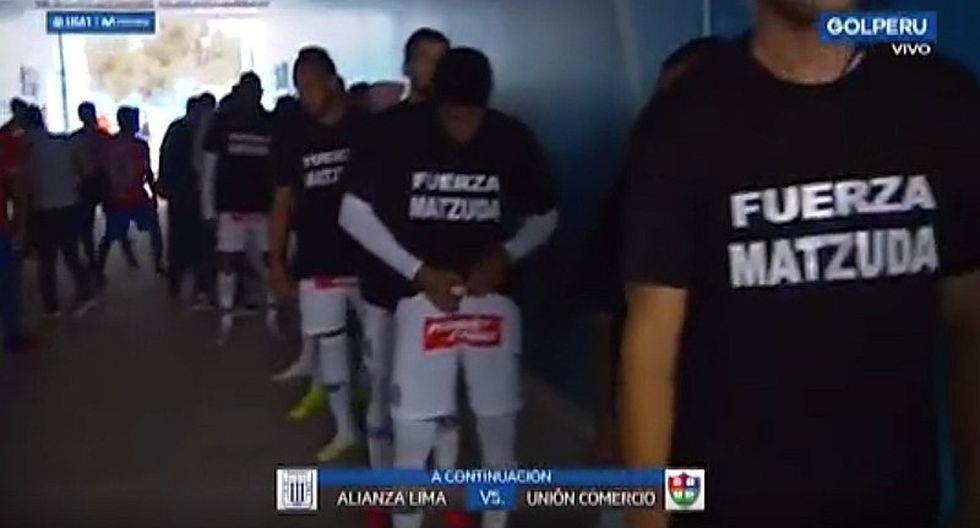 Alianza Lima y el emotivo gesto con Mauricio Matzuda tras el fallecimiento de su padre | VIDEO