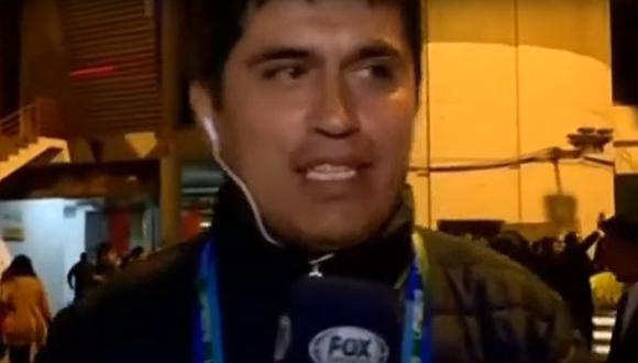 Periodista de Fox Sports al borde del llanto por el gran espectáculo en la inauguración de Lima 2019 | VIDEO