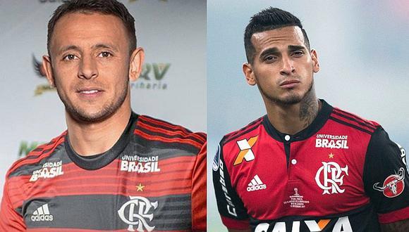 Miguel Trauco cedió ante el pedido de Rafinha y no usará más el dorsal '13' en Flamengo | FOTO