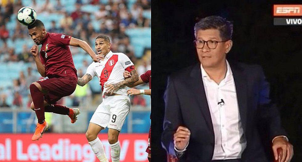 Selección peruana | Erick Osores hace polémico comentario sobre Perú tras empate ante Venezuela | VIDEO