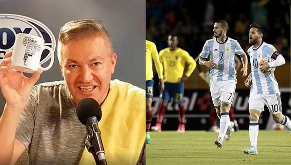 ¿Periodista argentino confirma que Argentina devolvió a Ecuador 'favor' de Eliminatorias?