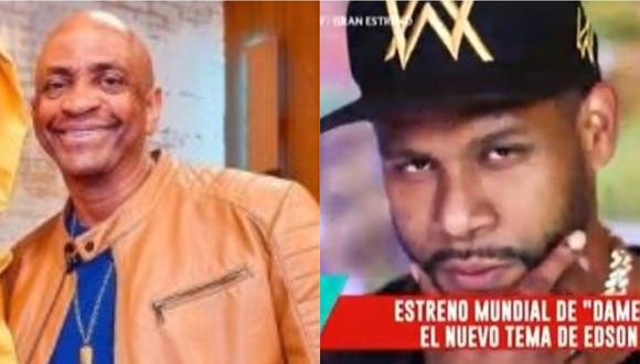 """Edson Dávila lanza su tema """"Dame el paso"""" y recibe respaldo de Sergio George. (Foto: @sergiogeorge/captura de video)"""