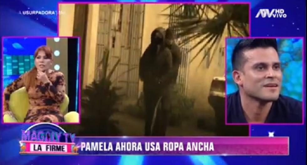 "Christian Domínguez se pronuncia sobre un posible embarazo de Pamela Franco en ""Magaly TV: La Firme"""