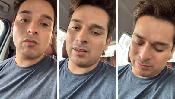 """Ricky Santos, Luis Miguel en """"Yo Soy"""" contó la complicación de salud con la que nació su hija Ámbar. (Instagram: @rickysantos_oficial)."""