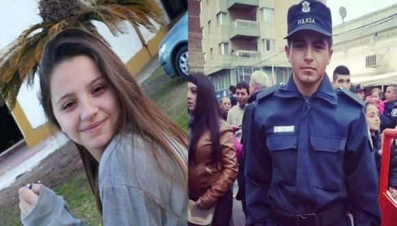 Joven habría sido asesinada por su ex pareja policía en Argentina. Sospechoso se encuentra detenido.