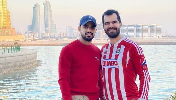 Yaqoob Mubarak y Gilberto Rosas han sido impedidos de ingresar al Perú por 5 años, según notificó Migraciones. (Foto: Instagram / @gibastruk / yaqoob_mubarak87).