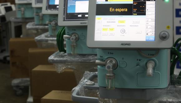 Nuevos veinte equipos fueron entregados a las tres principales redes de Lima y Callao: Almenara, Rebagliati y Sabogal. (Foto: EsSalud)