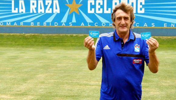 Horacio Baldessari se retiró con Sporting Cristal en la temporada 1993. (Foto: Facebook)
