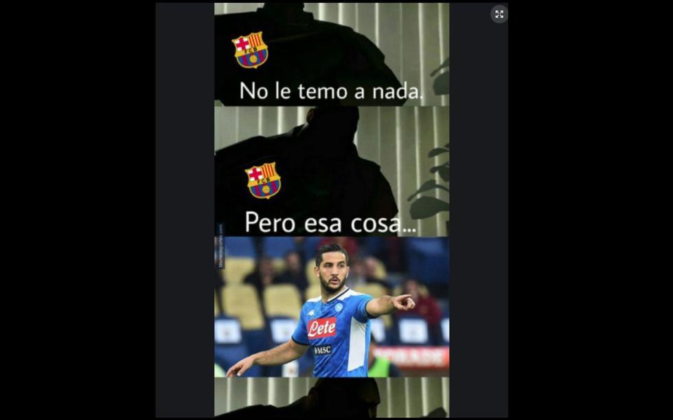 Barcelona vs. Napoli: los mejores memes del partido en San Paolo por octavos de final de la Champions League 2020. (Foto: Facebook)