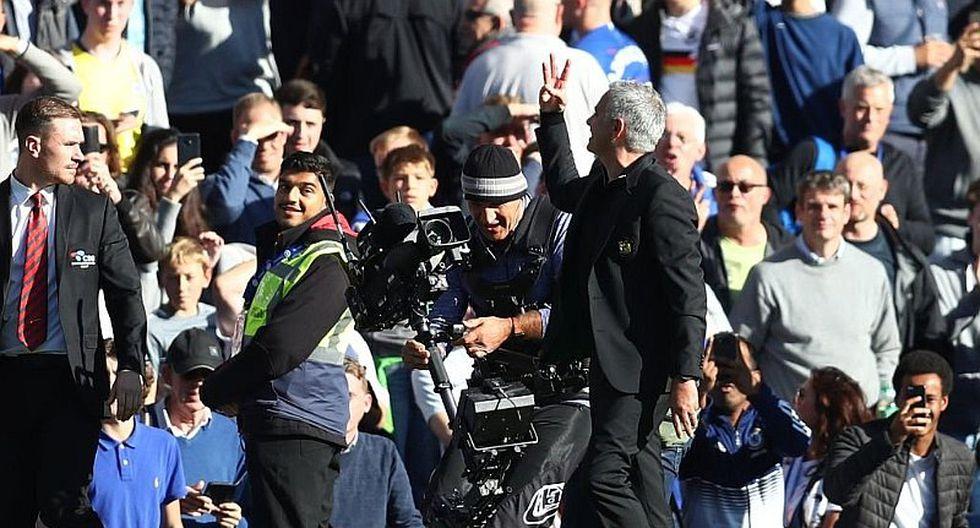 La épica respuesta de Mourinho a hinchas del Chelsea que lo pifiaron [VIDEO]